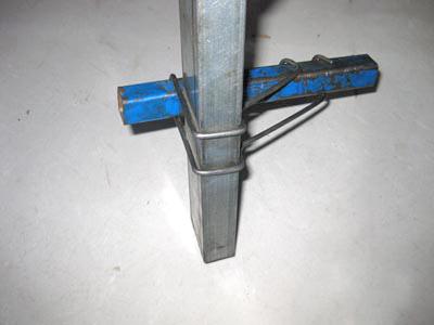 养殖大棚方管配件:压顶簧