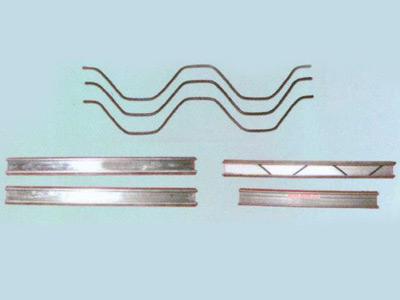 养殖大棚圆管配件:燕尾槽卡簧